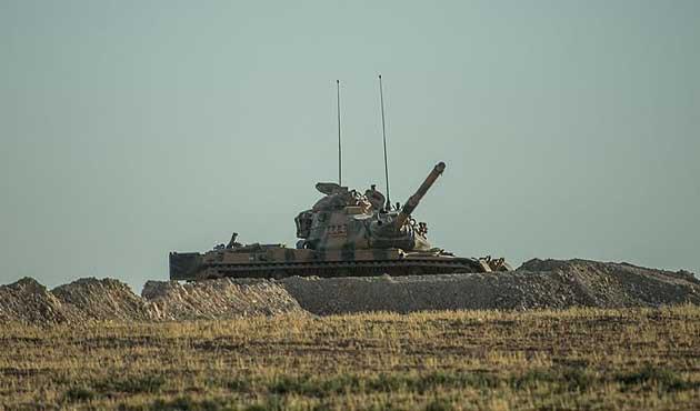 Fırat Kalkanı'nda 113 DAEŞ hedefi vuruldu