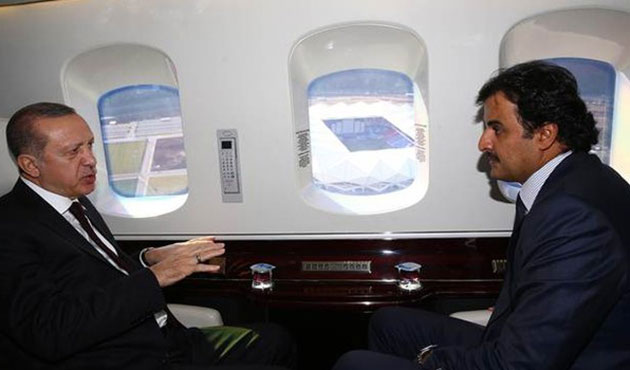 Cumhurbaşkanı Erdoğan, Katar Emiri ile Trabzon'da