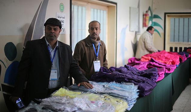 Gazze'de yardımların dağıtımı sürüyor