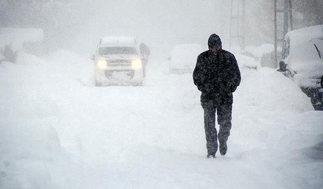 İstanbul'a yoğun kar uyarısı