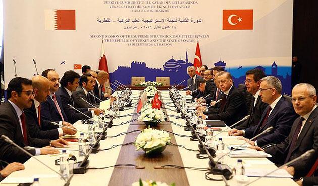 Türkiye ve Katar arasında yeni anlaşmalar