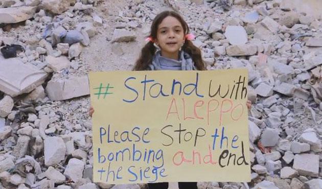 Halep'in küçük sesi Türkiye'ye gelecek