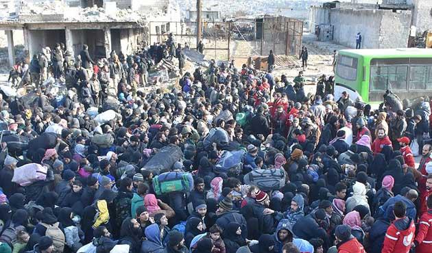 Halep'teki savaş mağdurları için Almanya'da 'barış koşusu'