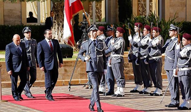 Lübnan'da Başbakan Hariri görevi devraldı