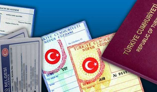 Nüfus cüzdanı, ehliyet ve pasaporta yeni yıl zammı