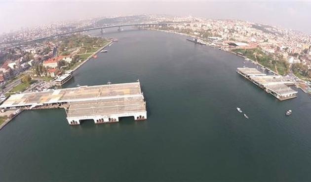 Tarihi Galata Köprüsü İstanbul'a veda etti