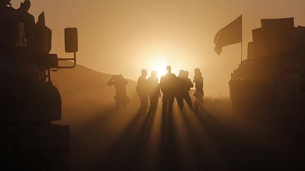 Musul'da Amerikan askeri de cepheye gidiyor