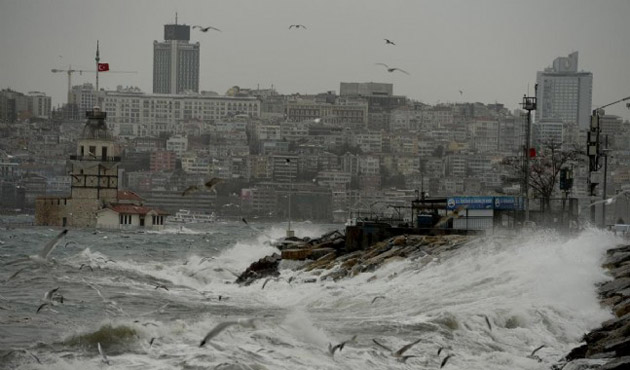İstanbul'un fırtına bilançosu açıklandı