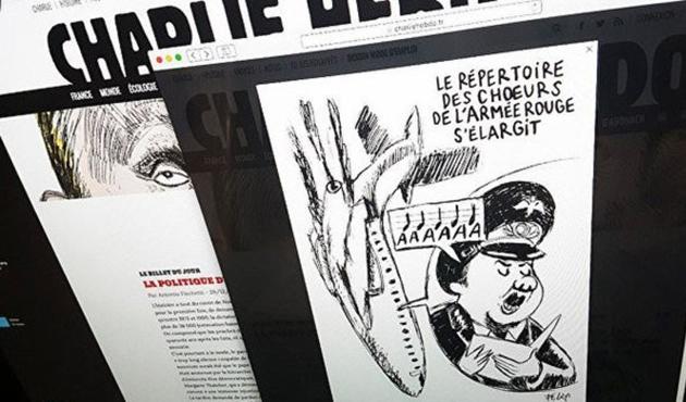 Rusya'dan Hebdo dergisine tepki