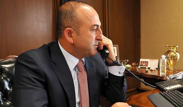 Çavuşoğlu'ndan yoğun telefon diplomasisi