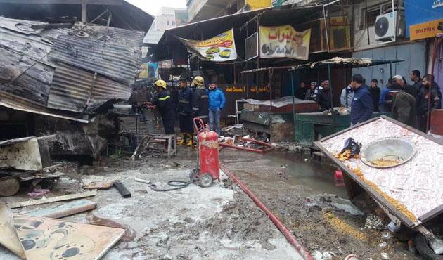 Bağdat'ta ardarda patlama: 28 ölü
