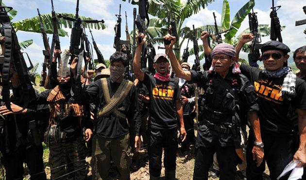 Filipinler'in güneyinde çatışmada
