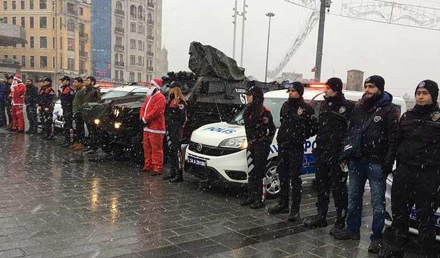 İstanbul'da yoğun yılbaşı önlemleri