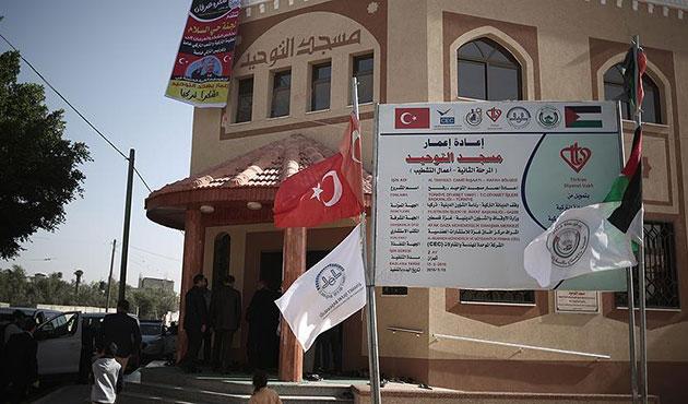 Gazze'de dokuz cami imar edildi