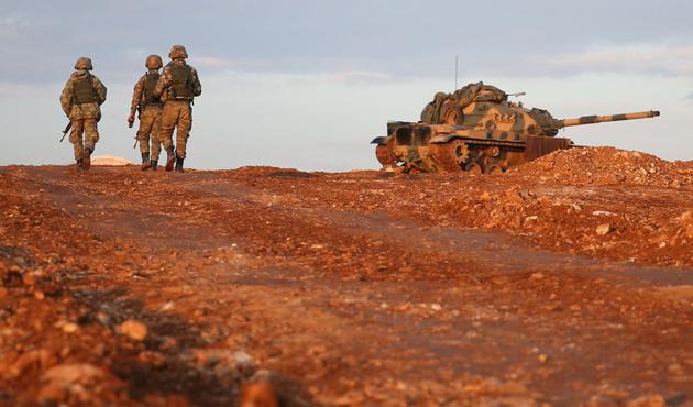 El Bab'da Türk askerine saldırı; beş şehit