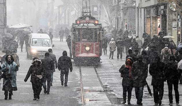 Soğuk hava ve yoğun kar geliyor
