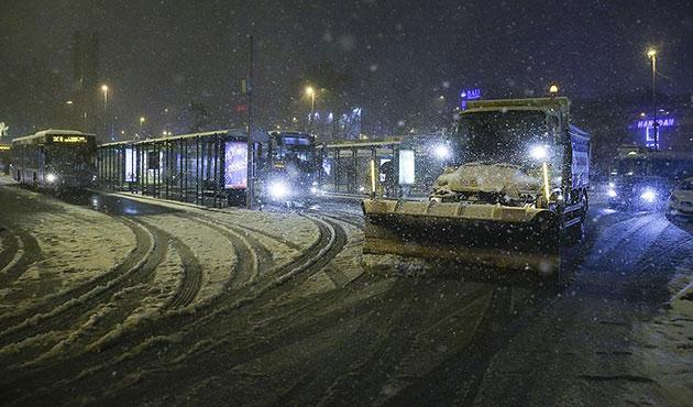 İBB kar için 7 bin personel çalıştırdı