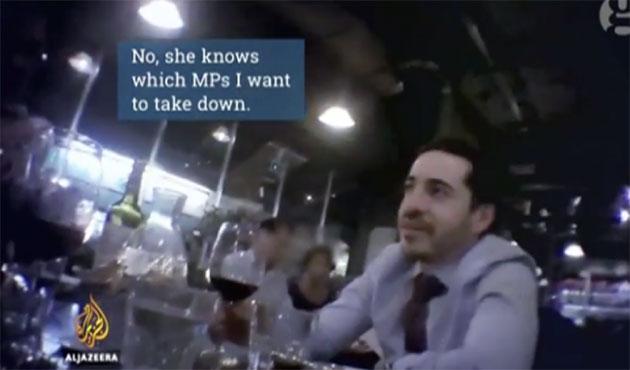 İsrailli diplomattan İngiliz politikacıları 'itibarsızlaştırma' planı