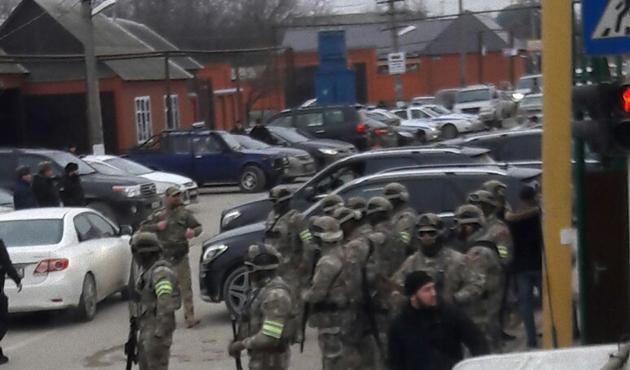 Çeçenistan'daki operasyonlarda 100 gözaltı