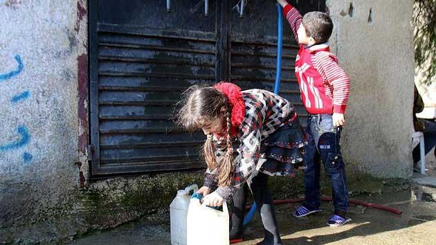 Esad'ın saldırıları Şam'ı susuz bıraktı