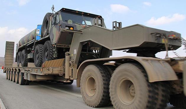 ABD askeri konvoyu Polonya'da