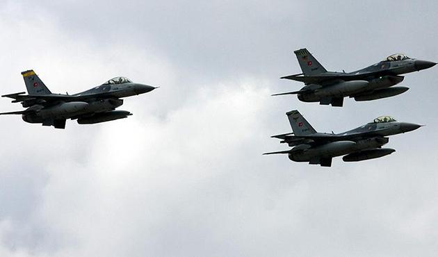 Metina'daki PKK hedeflerine hava harekatı