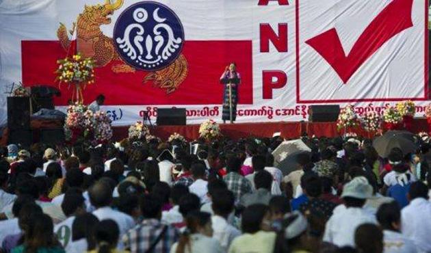 Myanmar'ın ırkçı partisinden Arakanlılara görüşme yasağı