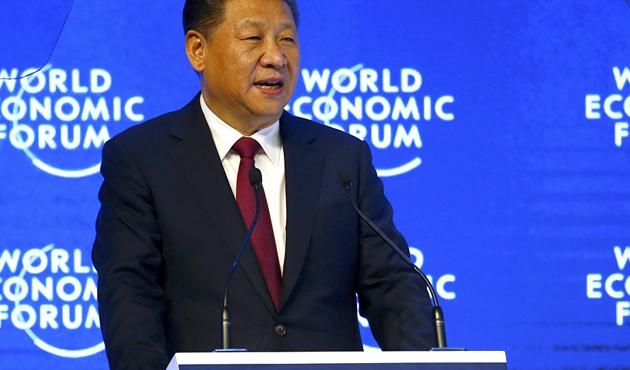 Çin lideri ilk kez Davos'ta