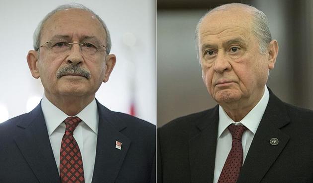 Kılıçdaroğlu ve Bahçeli yarın görüşecek