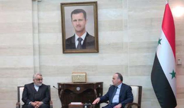 Suriye Başbakanı Hamis, İran'da arazi pazarlığında