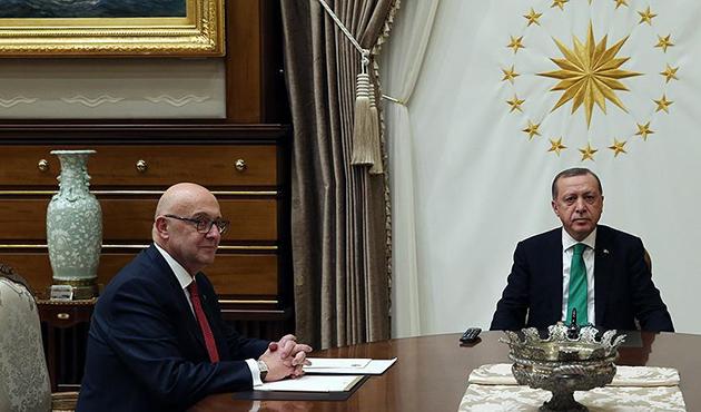 Cumhurbaşkanı Erdoğan, Şirinoğlu'nu kabul etti
