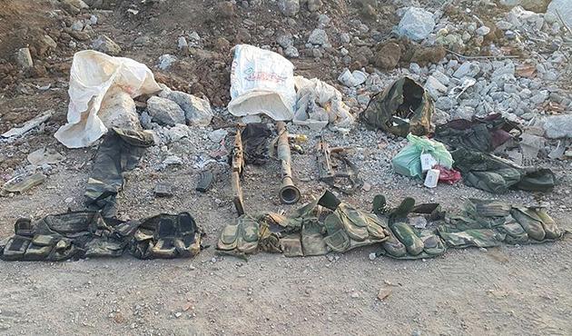 Nusaybin'de çok sayıda silah ve mühimmat ele geçirildi