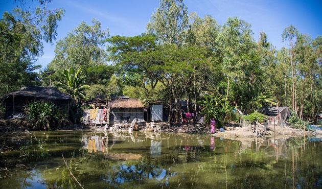 Bangladeş'in balıkçı köyleri iklim değişikliği kurbanı