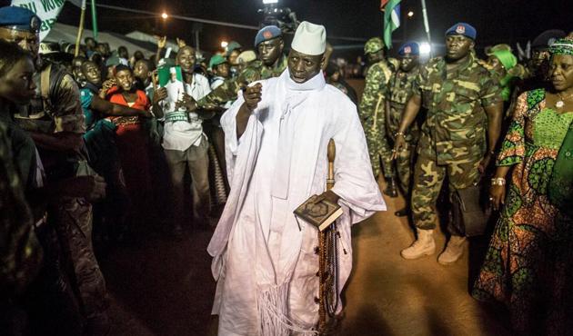 Gambiya lideri sürgün edilebilir