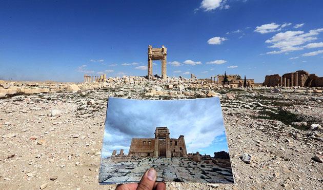DEAŞ Palmira'daki antik tiyatroya saldırdı