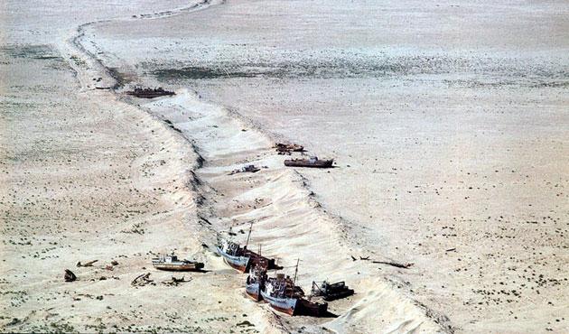 Çöl olan göl ya da Aral gölü faciası-1