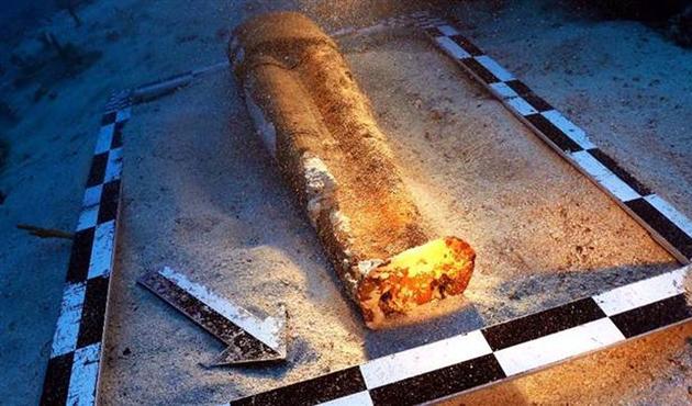 Marmaris'te 2700 yıllık seramik heykel bulundu