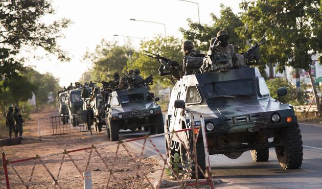 Batı Afrika güçleri ile Jammeh destekçileri arasında çatışma