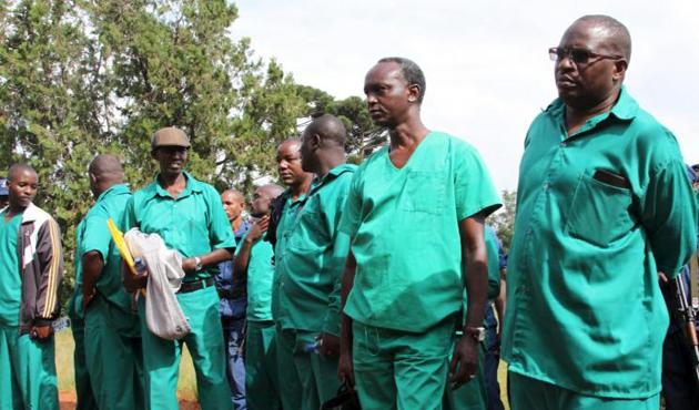 Burundi'de isyancılıkla suçlanan 450 mahkum serbest bırakıldı