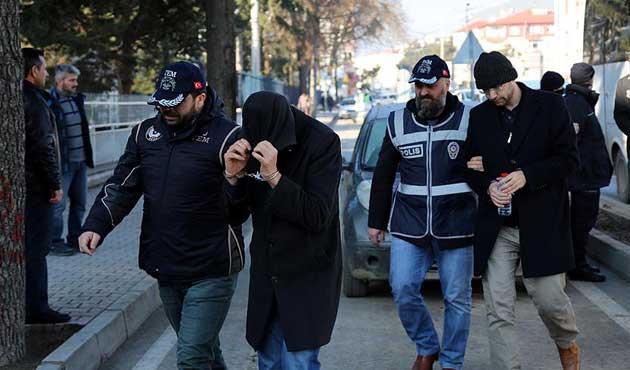 Bolu merkezli FETÖ operasyonunda 9 tutuklama