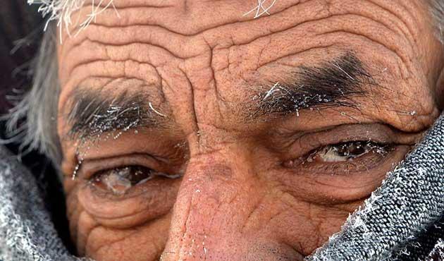 Erzurum'da soğuklar Sibirya'yı üçe katladı | VİDEO