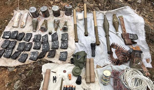 PKK'ya ait 4 patlayıcı ele geçirildi