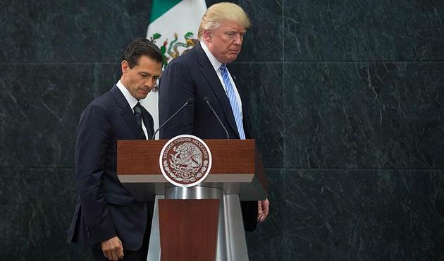 Meksika ABD'ye duvar parası ödemeyecek