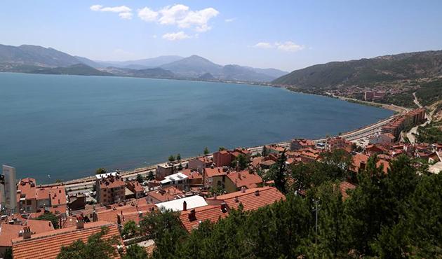 Eğirdir ilçesi Türkiye'nin 12. 'sakin şehri' oldu