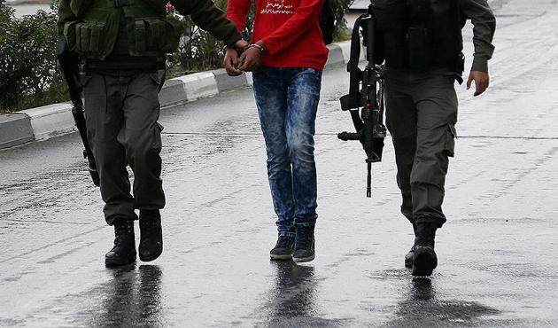 15 ayda 3 bin 369 Filistinli gözaltına alındı