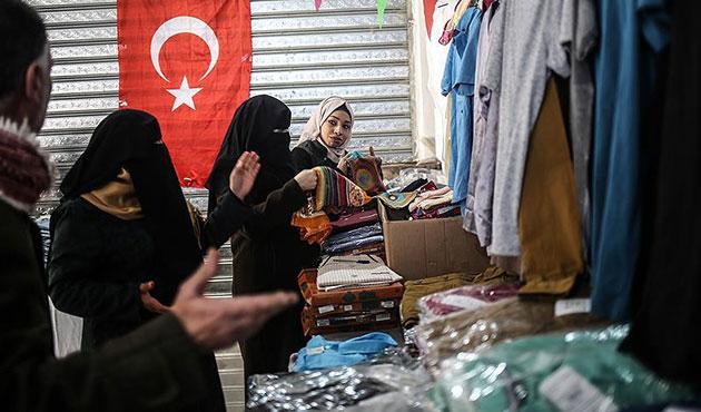 Gazze'de Türkiye yardımlarının dağıtımı sürüyor
