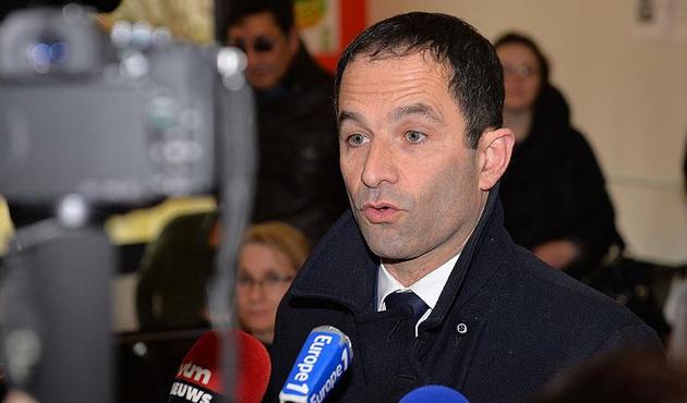 Fransa'da sosyalistlerin cumhurbaşkanı adayı Hamon