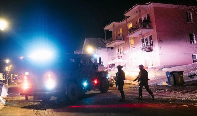 Kanada'da camiye saldırı; 6 ölü
