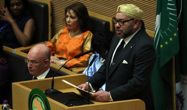 Fas Kralı, 33 yıl sonra Afrika Birliği Zirvesi'ne katıldı
