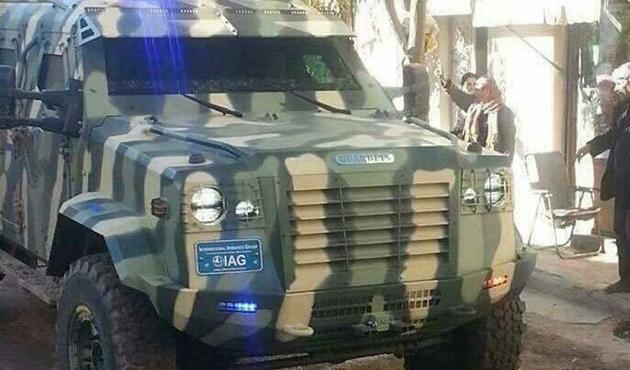 ABD, PYD'ye zırhlı araç verdi